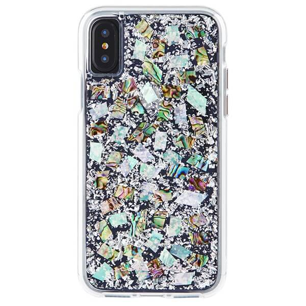 Case-Mate Karat Case suits iPhone X Mother Of Pearl