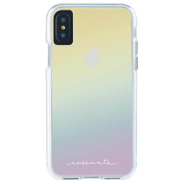 Case-Mate Naked Tough Case suits iPhone X Iridescent