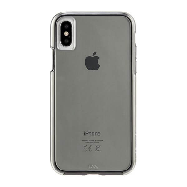 Case-Mate Naked Tough Case suits iPhone X Smoke