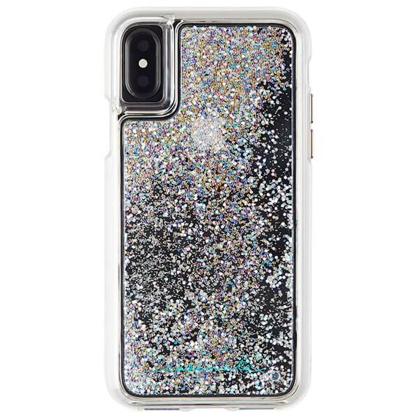 Case-Mate Waterfall Case suits iPhone X Iridescent