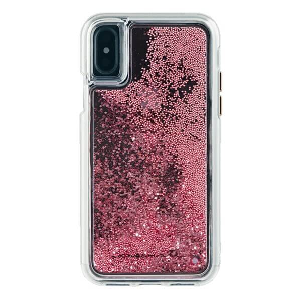 Case-Mate Waterfall Case suits iPhone X Rose Gold