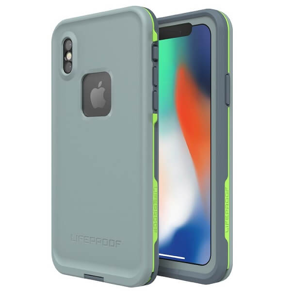 LifeProof Fre Case suits iPhone X Abyss/Lime/Stormy Weather