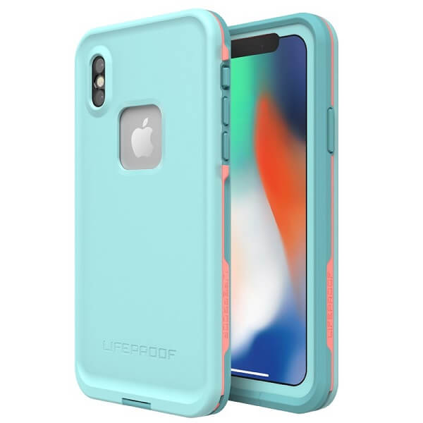 LifeProof Fre Case suits iPhone X Blue/Coral/Mandalay Bay