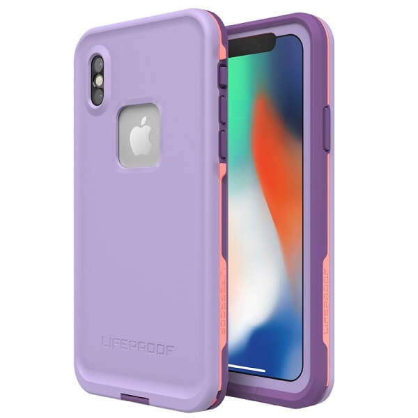 LifeProof Fre Case suits iPhone X Rose/Coral/Lilac