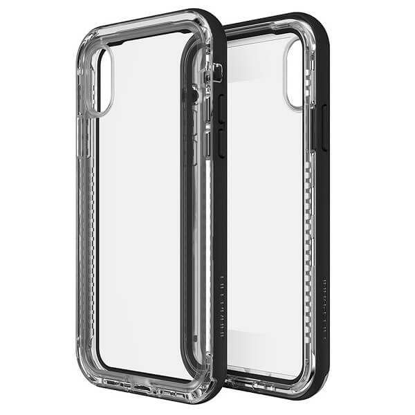 LifeProof Next Case suits iPhone X Clear And Black