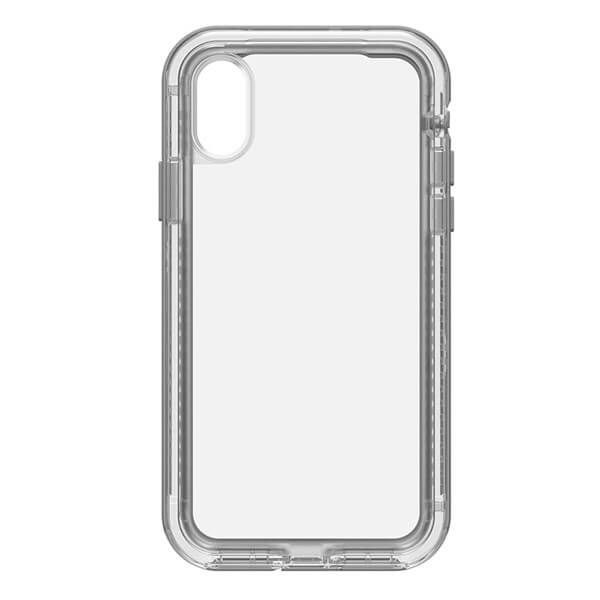 LifeProof Next Case suits iPhone X Clear And Grey