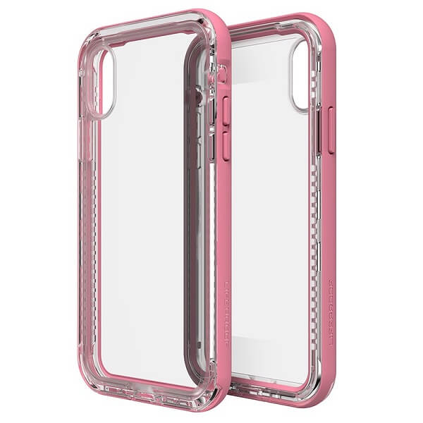 LifeProof Next Case suits iPhone X Clear And Rose