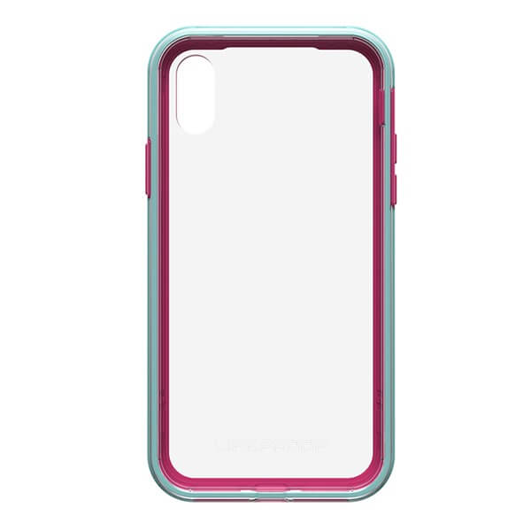 LifeProof Slam Case suits iPhone X Clear/Blue/Magenta