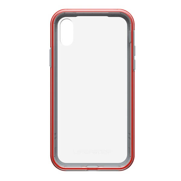 LifeProof Slam Case suits iPhone X Clear/Cherry/Sleet
