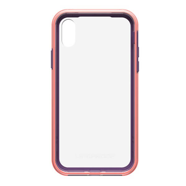 LifeProof Slam Case suits iPhone X Clear/Coral/Lilac