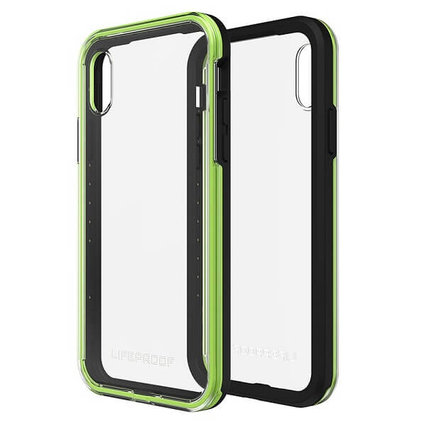 LifeProof Slam Case suits iPhone X Clear/Lime/Black