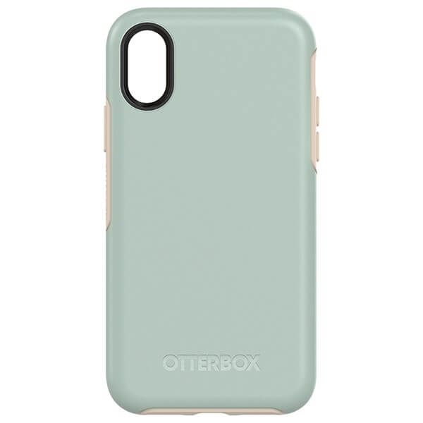 OtterBox Symmetry Case suits iPhone X Muted Waters