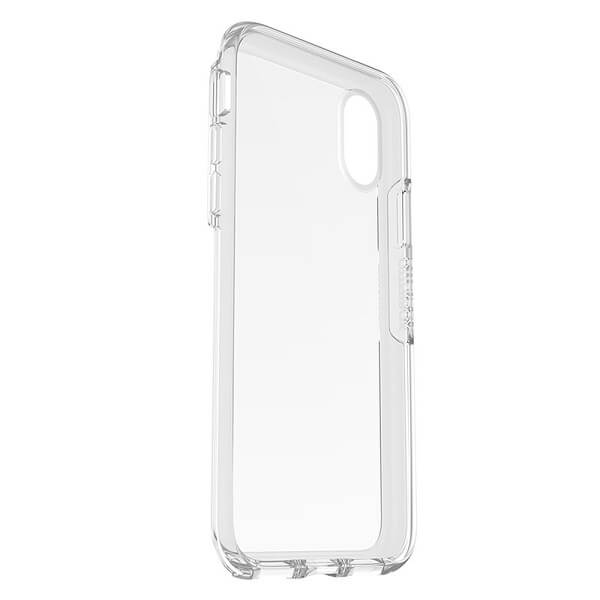 OtterBox Symmetry Clear Case suits iPhone X Clear