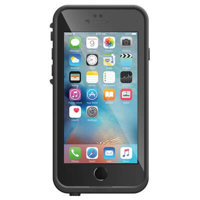 iPhone 6 and iPhone 6S Lifeproof Fre Case Black