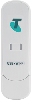 Telstra 3G Prepaid USB + WiFi Modem