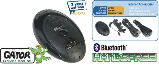 Gator Driver Assist Compact Bluetooth Handsfree Kit