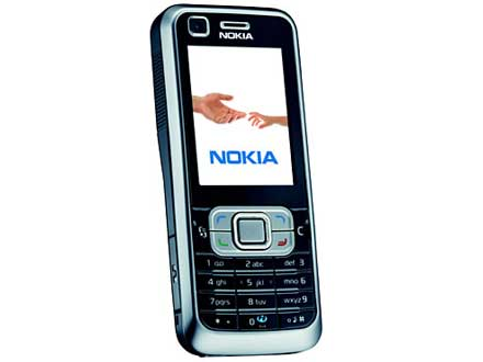 Nokia 6120 Original Style Housing Black Full Set with Keypad and Battery Cover