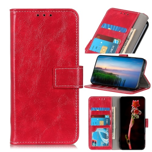 Oppo A53s Wallet Case Red