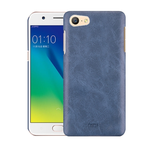 Oppo A57 Leather Texture Case Blue