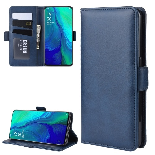 Oppo Reno 10x Zoom PU Leather Case Blue