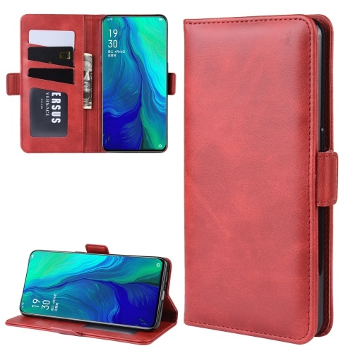 Oppo Reno 10x Zoom PU Leather Case Red