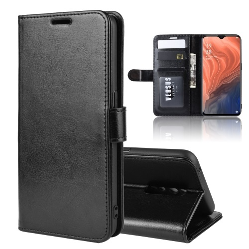 Oppo Reno Z PU Leather Case Black
