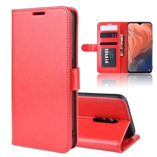 Oppo Reno Z PU Leather Case Red