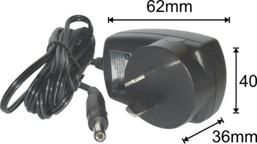 7.5 Volt 800mA Switch Mode Power Supply Removable Plug