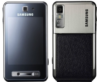 Samsung F480 Clear Phone Shell
