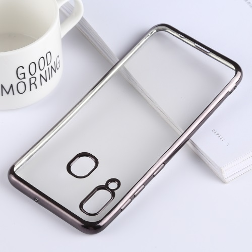 Samsung Galaxy A20 TPU Case Clear And Black