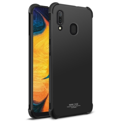 Samsung Galaxy A30 Tough TPU Case Black With Screen Protector