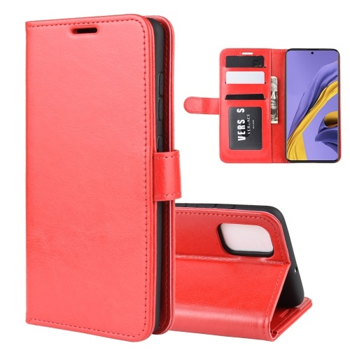 Samsung Galaxy A51 PU Leather Case Red