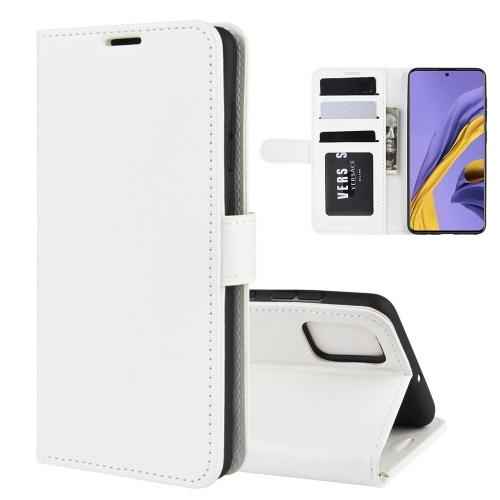 Samsung Galaxy A51 PU Leather Case White