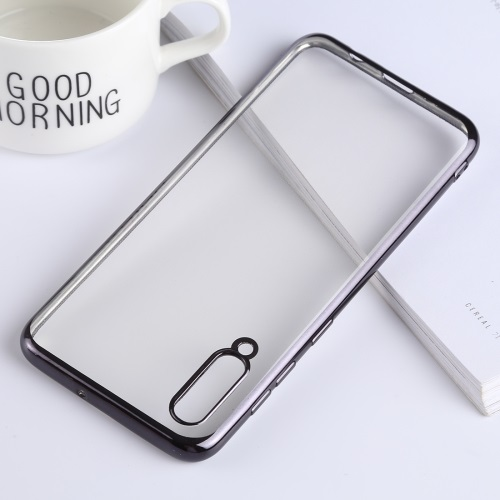 Samsung Galaxy A70 TPU Case Clear And Black