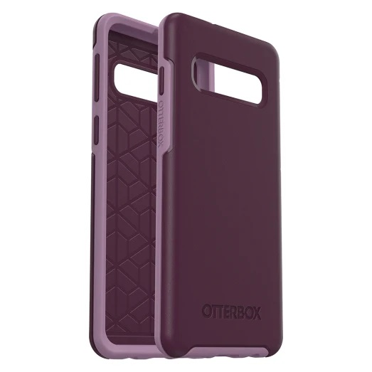 OtterBox Symmetry Case Suits Samsung Galaxy S10 Tonic Violet