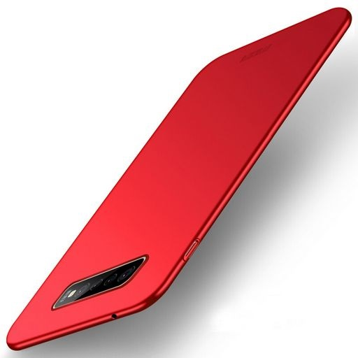 Ultra Thin Hard Shell Case For Galaxy S10+ Red