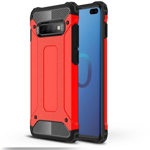 Tough Case For Samsung Galaxy S10+ Red