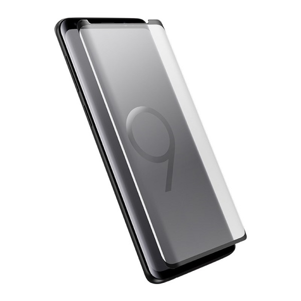 OtterBox Clearly Protected Alpha Glass suits Samsung Galaxy S9
