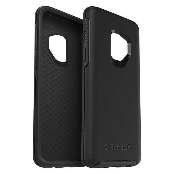 OtterBox Symmetry Case suits Samsung Galaxy S9 Black