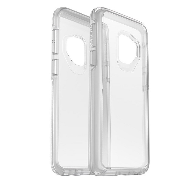 OtterBox Symmetry Clear Case suits Samsung Galaxy S9 Plus Clear