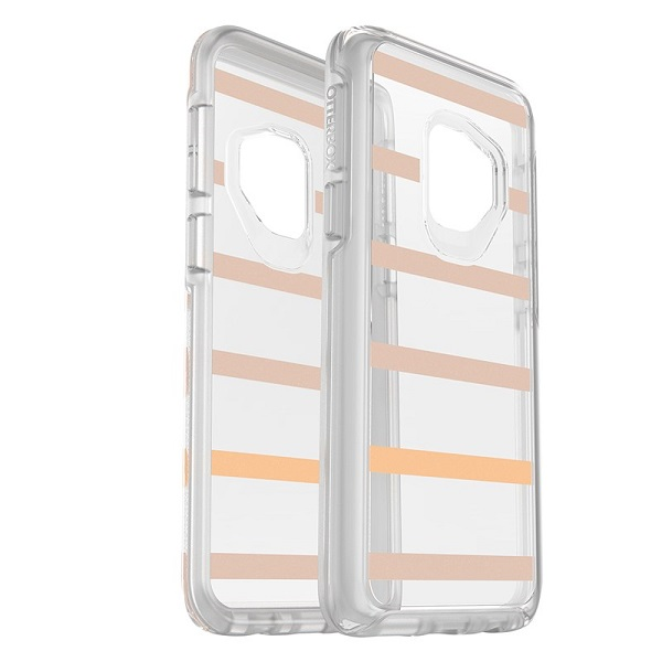 OtterBox Symmetry Clear Case suits Samsung Galaxy S9 Plus Inside The Line