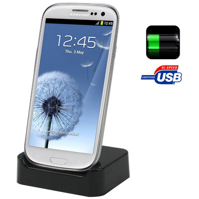 Samsung Galaxy S III I9300 Dock with Charge and Data Sync Function