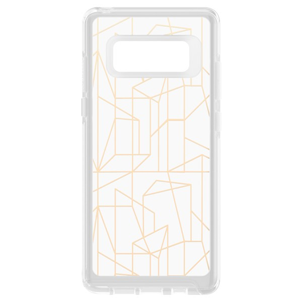 OtterBox Symmetry Clear Drop Me A Line Note 8