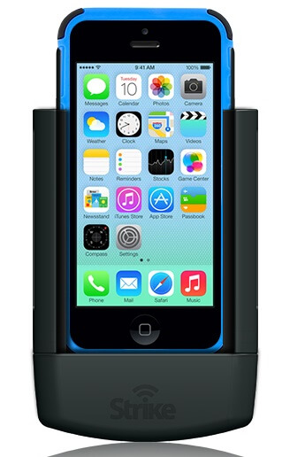 Strike Alpha Cradle For Apple iPhone 5C Fits iPhone 5C with Apple Case DIY