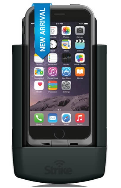 Strike Alpha Cradle For Apple iPhone 6 In Lifeproof Case Professional Install