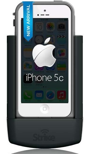 Strike Alpha Cradle For Apple iPhone 5C in Lifeproof Case Professional Install