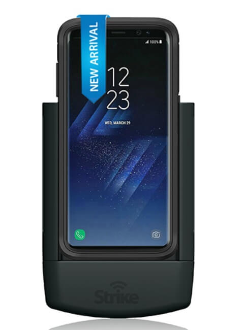 Strike Alpha Samsung Galaxy S8 Plus Car Cradle for OtterBox Defender Case Professsional Install