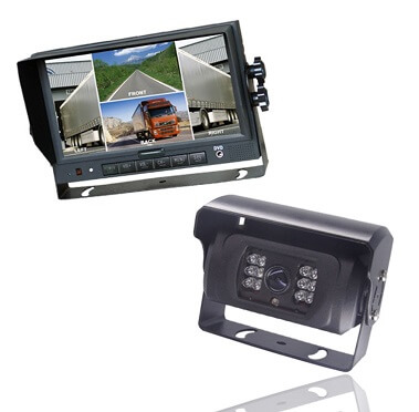 Strike Tough 7 Inch Monitor and Double HD Camera Bundle