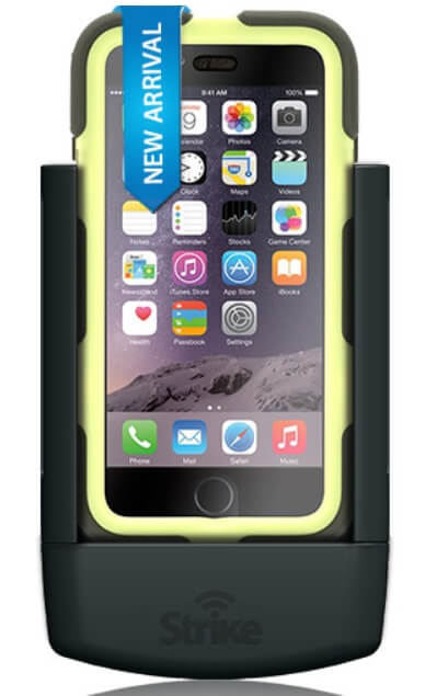 Strike Alpha iPhone 6 Plus And iPhone 6S Plus Cradle for Griffin Survivor case Professional Install