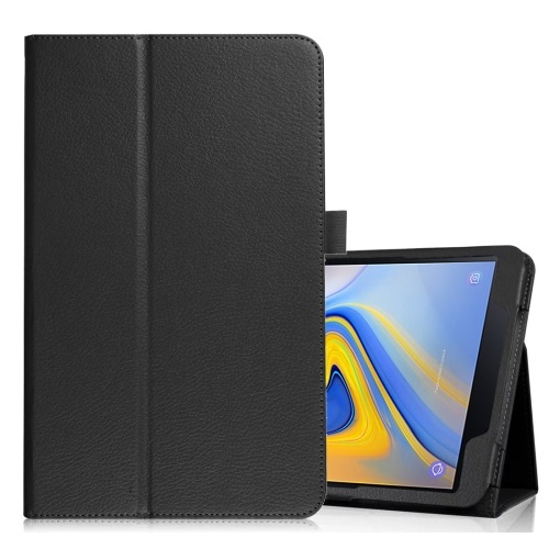 Galaxy Tab A 10.5 2018 Inch PU Leather Case Black